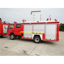 4m3 4x2 Used Fire Fighting Trucks
