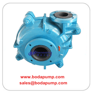 Rubber Lined Mineral Slurry Pump