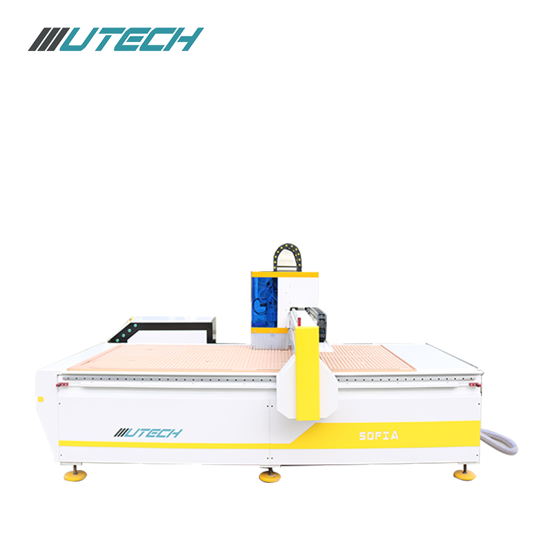 cnc oscillating foam knife cutting machine