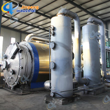 factory low price Used for Batch Waste Tyre Pyrolysis Plant City Garbage Recycling Machine export to Ethiopia Importers