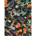 Birds Design Polyester Bubble Crepe Printing Fabric