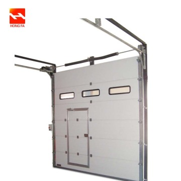 Busa Panel aman Industrial Sectional overhead Door