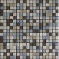 Classic 15mm Chip Stone Mix Glass Mosaic