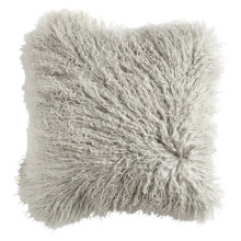Long Hair Mongolian Lamb Fur Sofa Pillow
