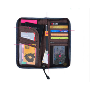 Customized Promotional Travel Wallet Passport Holder