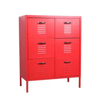 Metal nice home locker storage drawer cabinets