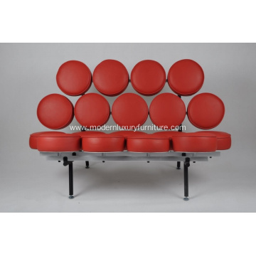 red mashmallow modern sofa