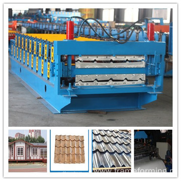 Steel Roof Tile Roll Forming Machine