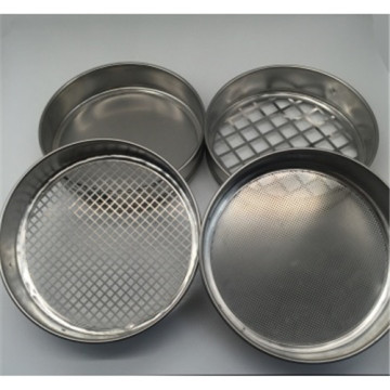 Easy to clean 10cm stainless steel test sieve