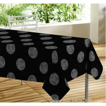 Elegant Tablecloth with Non woven backing Flooring