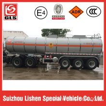 Liquid ammonium nitrate transport trailer