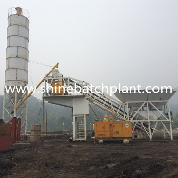 Capacity Of Concrete Batching Plant