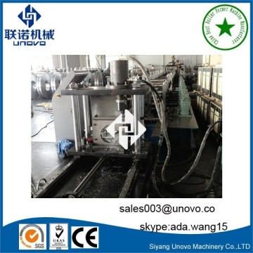 Photovoltaic solar rack hat channel shaping forming machine