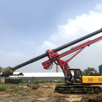 Dingli manufactures building foundation piling machinery