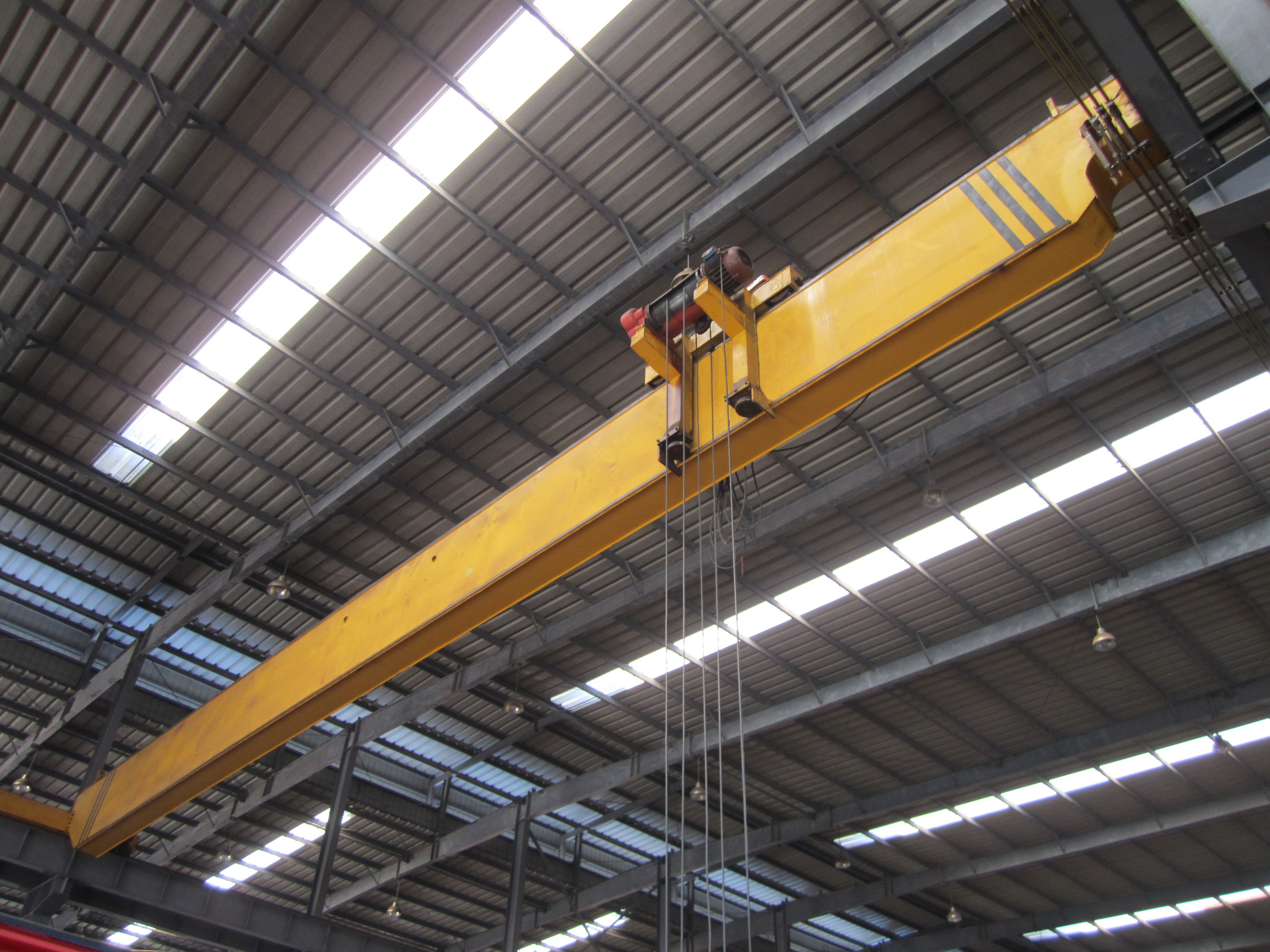 Monorail Single Girder Bridge Crane