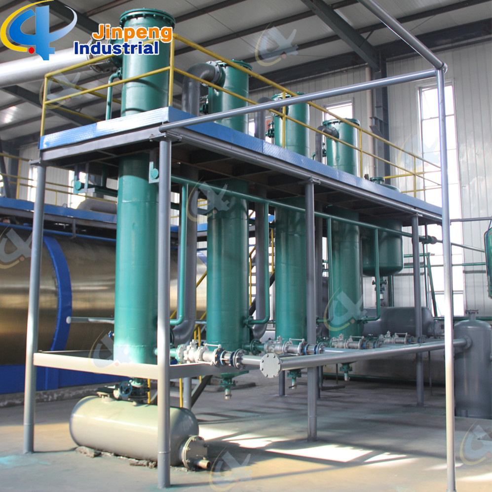 Plastic Oil Process Machine to Diesel Oil