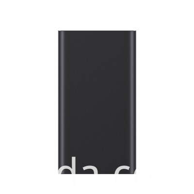 Black Color li-polymer Powerbank