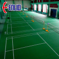 Outdoor modular interlocking basketball court flooring