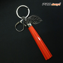 Red Tassle Lightning USB Cable IPhone Keychain