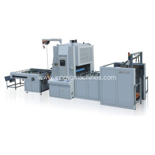 ZX-1100 VERTICAL SEMI-AUTOMATIC LAMINATING MACHINE
