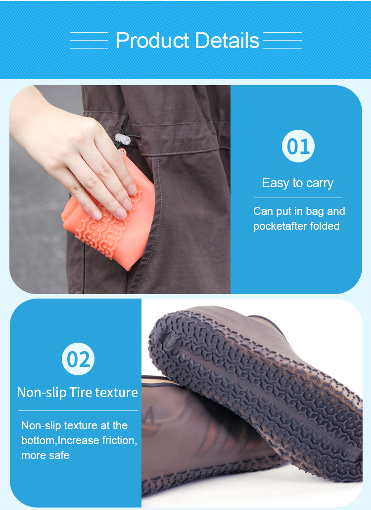Silicone Shoe Cover Waterproof