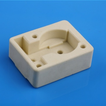 Insulating steatite ceramic bush for Thermostat