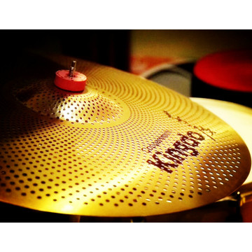 Cheapest Price for Professional Practice Quiet Cymbals 16'' crash Quiet Cymbals For Drum Set supply to Guam Factories