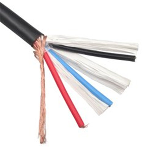 Shielded soft sheathed wire