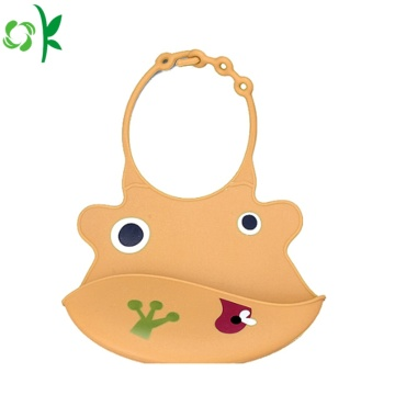 High Quality Washable Silicone Baby Bib for Sale