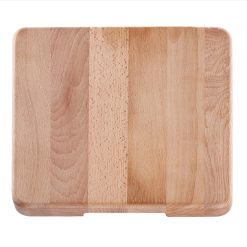 Square cutting board without handle