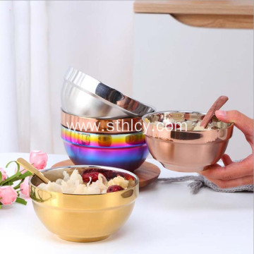 304 Stainless Steel Double Insulation Bowl