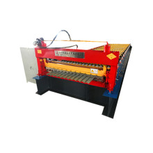 Roof panel corrugated cold roll forming machine
