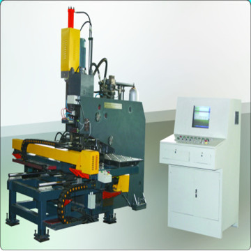 Hydraulic CNC plate punching and drilling machine