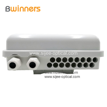 16-port FTTH Optical Distribution Box for Fiber PLC Splitter