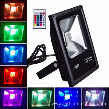 Bright and energy efficient flood light
