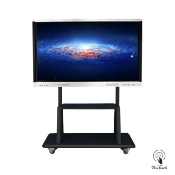 70 Inches All-In-One Touchscreen Panel with mobile stand
