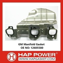 OEM for Intake Manifold Gaskets,Exhaust Manifold Gaskets,Engine Manifold Gaskets Supplier in China GM Manifold Gasket 12605580 supply to Bahrain Importers