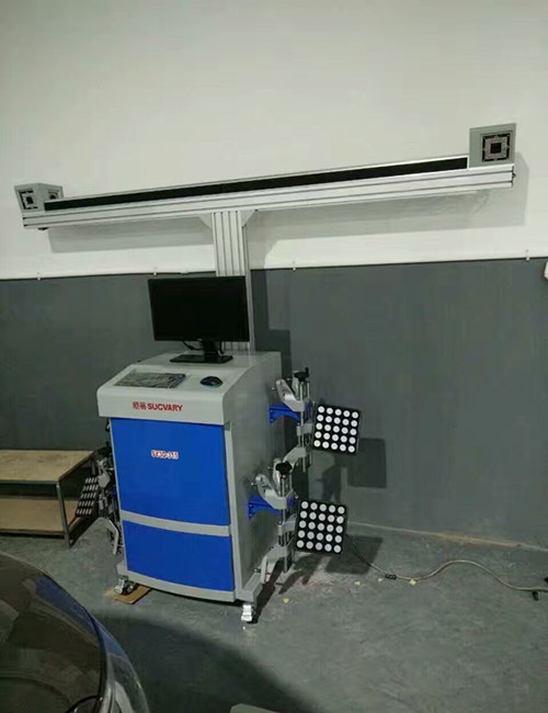 High Efficiency 3D Wheel Alignment