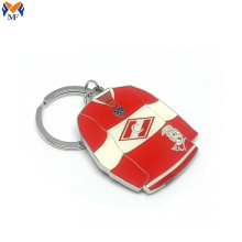 Custom football club keychain for souvenir