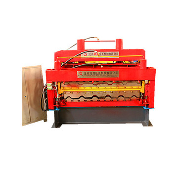 New design double Glazed tile Roll Forming Machine