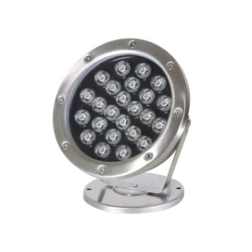 24V Muti color 24W LED Underwater Light