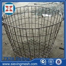 China Gold Supplier for for China Storage Basket,Metal Wire Baskets,Wire Mesh Baskets ,Small Wire Baskets Manufacturer Fine Metal Storage Boxes export to Pakistan Manufacturer