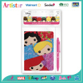 DISNEY PRINCESS opp bag packing stationery set