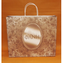 PTH handle  paper bag with print