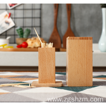 High-grade bamboo toothpick box