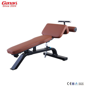 Supply for Fitness Treadmill Professional Fitness Equipment Adjustable Decline Bench export to United States Factories