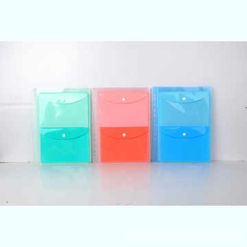 double plastic printing  button Envelope