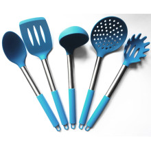 5pcs Silicone Non-Stick Cooking Baking Utensils