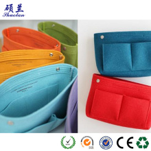 Short Lead Time for Makeup Bag Customized size felt storage bag cosmetic organizer supply to United States Wholesale