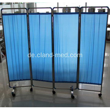 Edelstahl-Krankenhaus Medical Ward Folding Screen